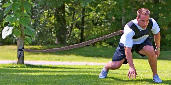 Entraînement aux sports d'équipe et force explosive