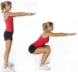 squat e mal di schiena